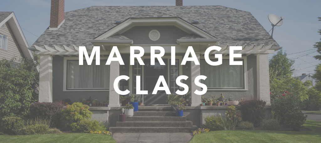 The Marriage Mystery Class